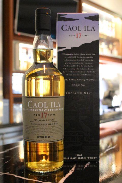 (現貨) Caol Ila 17 years Unpeated Style Cask Strength 卡爾里拉 17年 非泥煤 原酒 (750ml 55.9%)