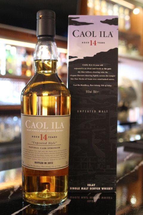 (現貨) Caol Ila 14 years Unpeated Style Cask Strength 卡爾里拉 14年 非泥煤 原酒 (700ml 59.3%)