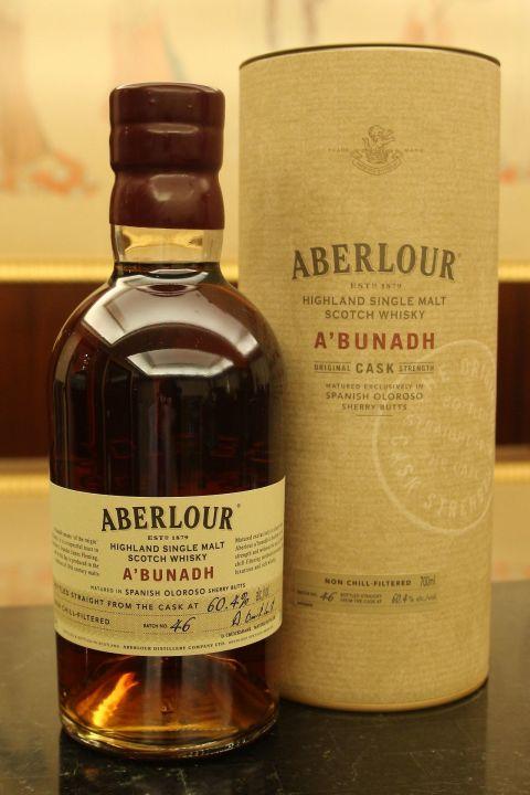 (現貨) Aberlour A'bunadh Batch 46 亞伯樂 雪莉桶原酒 第46批次 (700ml 60.4%)