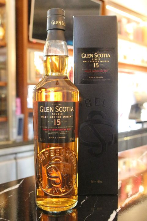 (現貨) Glen Scotia 15 years Rich & Smooth 格蘭帝 15年 (700ml 46%)