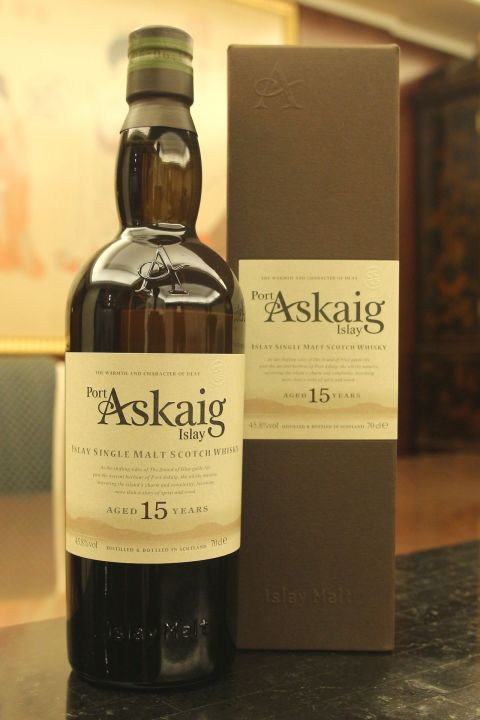 (現貨) Port Askaig Islay 15 years 波特阿西卡 15年 原酒 (700ml 45.8%)
