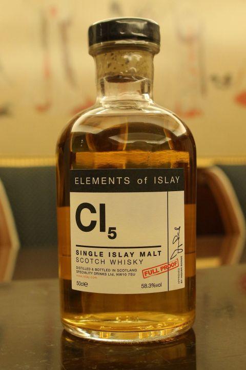 Elements of Islay CI5 艾雷元素 CI5 卡爾里拉 原酒 (500ml 58.3%)