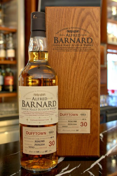 (現貨) ALFRED BARNARD Dufftown 1983 30 years Single Cask 達夫鎮 1983 30年 單桶原酒 (700ml 48.1%)