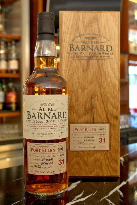 (現貨) ALFRED BARNARD Port Ellen 1983 31 years Single Cask 波特艾倫 1983 31年 單桶原酒 (700ml 54.9%)
