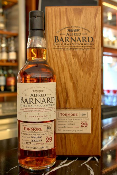 ALFRED BARNARD Tormore 1984 29 years Single Cask 托摩爾 1984 29年 單桶原酒 (700ml 58.2%)