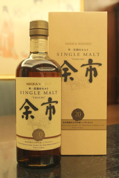 (現貨) Nikka Yoichi 20 years Old Version 余市 20年 舊版 (700ml 52%)