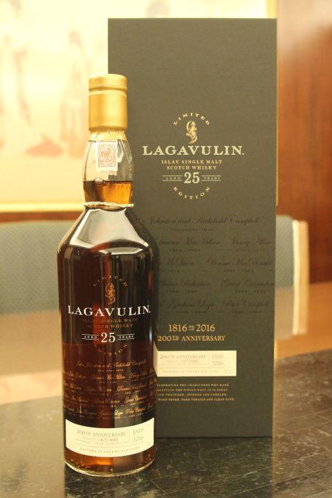 LAGAVULIN 25 years 200th Anniversary 拉加維林 25年 雪莉桶 兩百週年版 (700ml 51.7%)