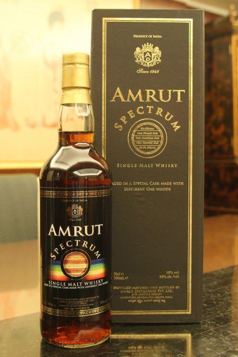 India Amrut Spectrum 印度 雅沐特 光譜 單一麥芽威士忌 (700ml 50%)