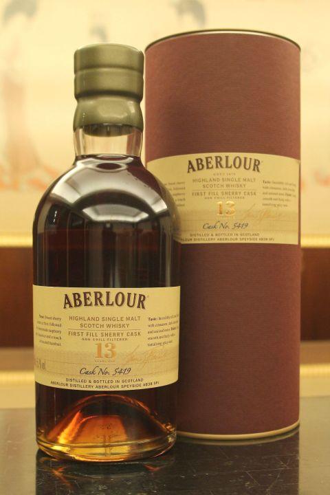 Aberlour 13 years First Fill Sherry Cask 亞伯樂 13年 初次雪莉單桶 台灣限定版 (700ml 55.7%)