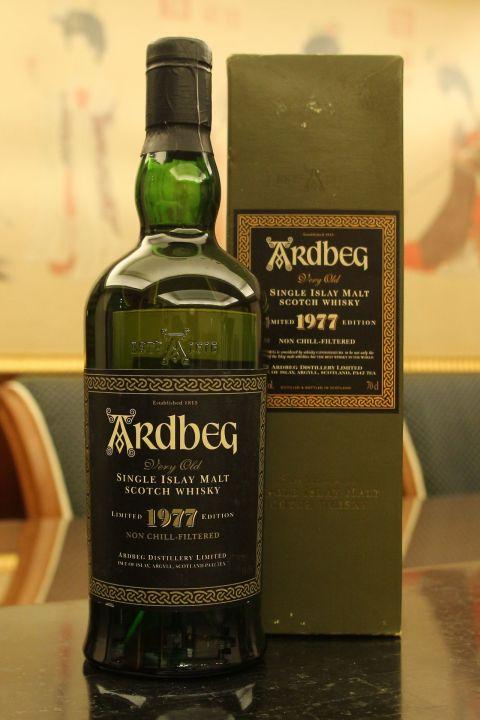(現貨) Ardbeg Very Old 1977 Limited Edition 雅柏 阿貝 1977 限量版 (700ml 46%)