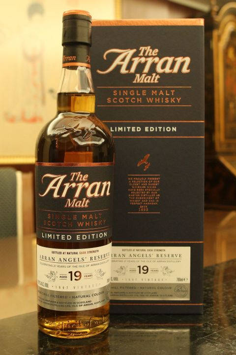 (現貨) ARRAN 1997 19 years Angels' Reserve 愛倫 1997 19年 限量版 原酒 (700ml 48.2%)