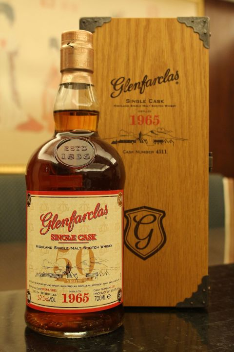 (現貨) Glenfarclas 1965 50 years Single Cask 格蘭花格 1965 50年 單桶 (700ml 52.1%)