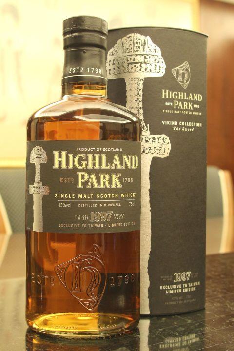 (現貨) Highland Park 1997 Taiwan Limited Edition 高原騎士 1997 維京人寶劍 台灣限定版 (750ml 43%)
