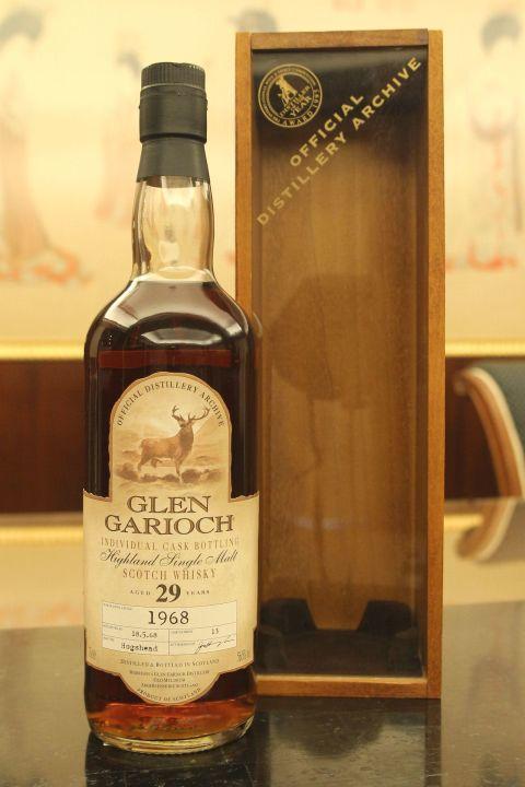 (現貨) Glen Garioch 1968 29 years Individual Cask 格蘭蓋瑞 威鹿 1968 29年 單桶 (700ml 56.5%)