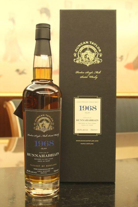 Duncan Taylor Bunnahabhain 1968 40 years 當肯泰勒 布納哈本 1968 40年 單桶原酒 (700ml 40.8%)