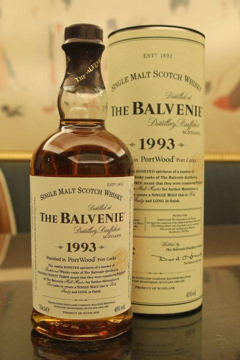 The BALVENIE 1993 PortWood 百富 1993 單一純麥威士忌 (700ml 40%)