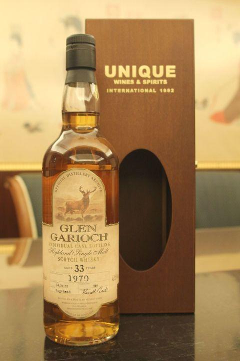 (現貨) Glen Garioch 1970 33 years Individual Cask 格蘭蓋瑞 威鹿 1970 33年 單桶 (700ml 42.6%)