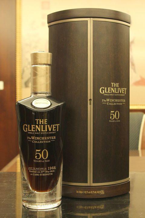 (現貨) GLENLIVET Winchester 1966 50 years 格蘭利威 1966 首席釀酒師 極選50年 (700ml 49.2%)