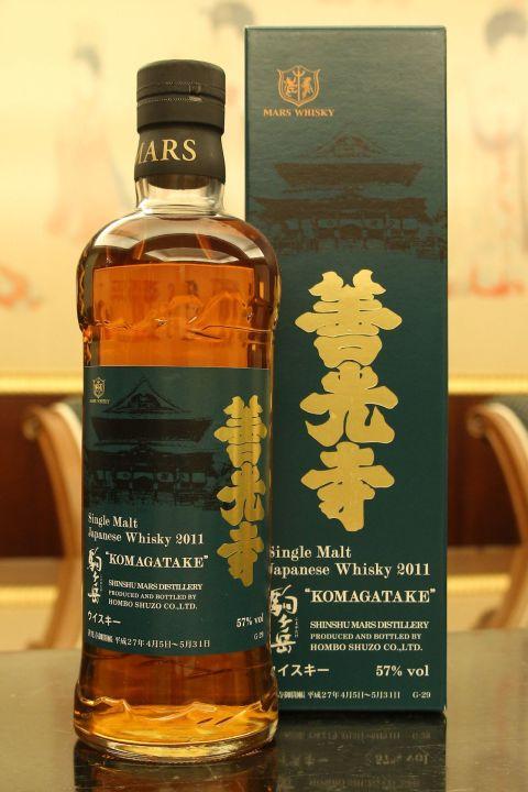 (現貨) Mars Whisky KOMAGATAKE 2011 Zenkoji  駒之岳 善光寺2015開帳紀念版 (700ml 57%)