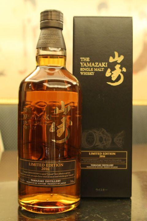 (現貨) Yamazaki 2016 limited edition 山崎 2016 限定版 (700ml 43%)