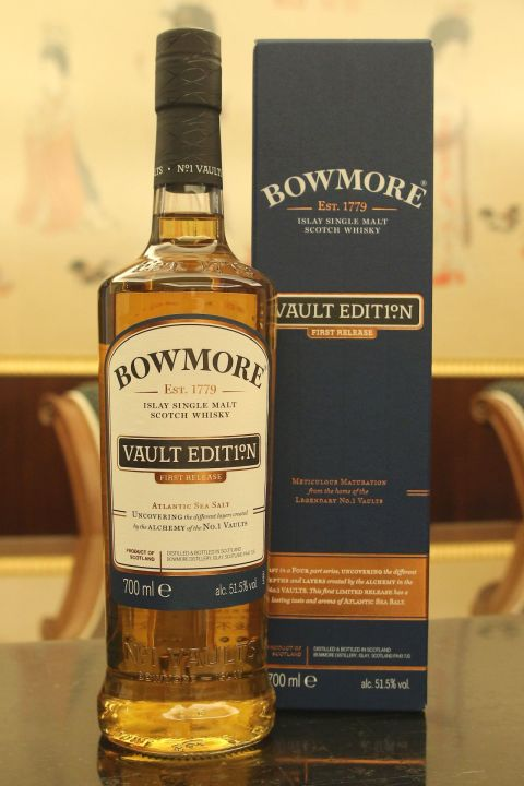 (現貨) Bowmore Vault Edition Atlantic Sea Salt 波摩 窖藏系列 第一版 (700ml 51.5%)