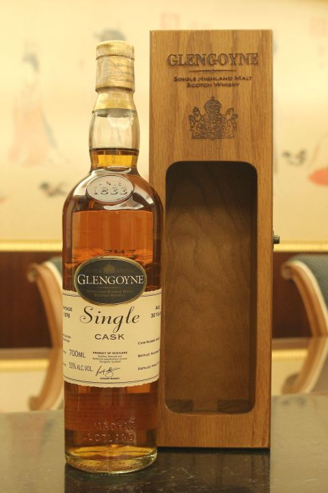 (現貨) Glengoyne 1976 30 years Single Cask 格蘭哥尼 1976 30年 單桶原酒 (700ml 50%)