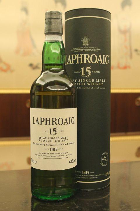 LAPHROAIG 15 years 拉佛格 15年 舊版 (700ml 43%)