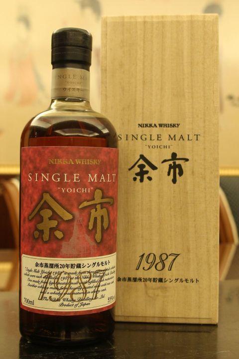 Yoichi 1987 余市 1987年 20年原酒 (700ml 55%)