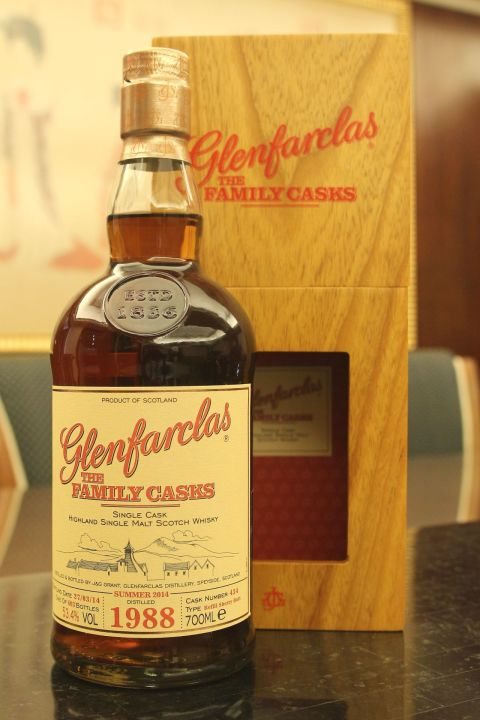 Glenfarclas 1988 The Family Casks 格蘭花格 1988 家族桶 (700ml 53.4%)