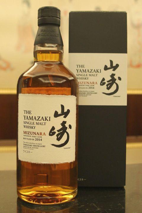 (現貨) Yamazaki Mizunara 2014 山崎 水楢桶 2014 (700ml 48%)