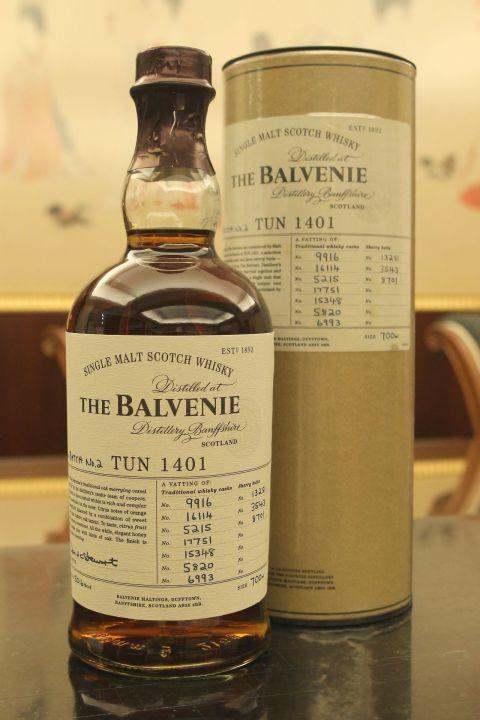 (現貨) The BALVENIE Tun 1401 Batch No.2 百富 1401 第二批次 (700ml 50.6%)