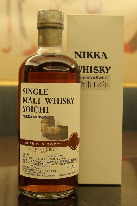(現貨) Nikka Yoichi 12 years Sherry & Sweet Distillery Limited 余市 12年 酒廠限定版 (500ml 55%)