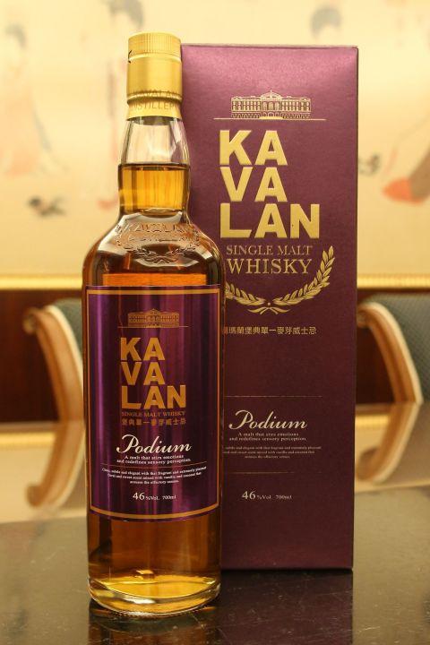 (現貨) Kavalan Podium Single Malt Whisky 噶瑪蘭 堡典 單一麥芽威士忌 (700ml 46%)