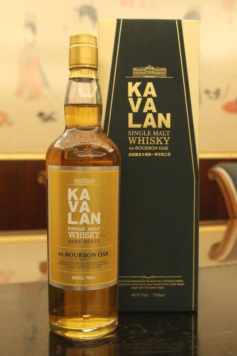 (現貨) Kavalan Ex-Bourbon Oak  噶瑪蘭 波本桶  (700ml 46%)
