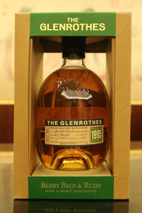 GLENROTHES Vintage 1995 bottled 2013 格蘭路思 1995 (700ml 43%)