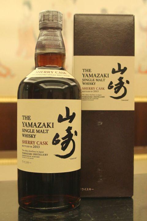 Yamazaki Sherry Cask 2013 山崎 雪莉桶 2013 (700ml 48%)