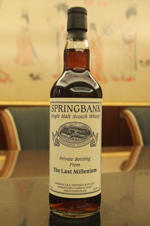 (現貨) Springbank 1999 The Last Millennium 雲頂 1999 單桶 (700ml 54.9%)