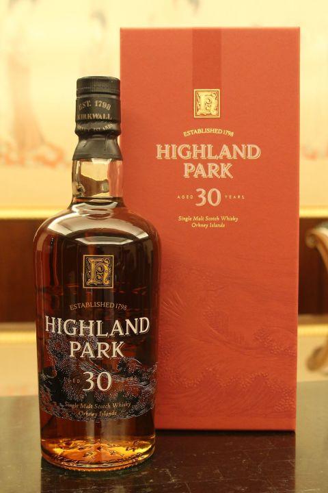 (現貨) Highland Park 30 years 高原騎士 30年 舊版小頭瓶 (700ml 48.1%)