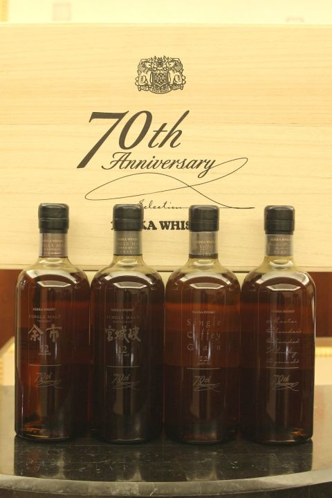 (現貨) Nikka Whisky 70th Anniversary Selection 70週年紀念組 (700ml*4 58%)