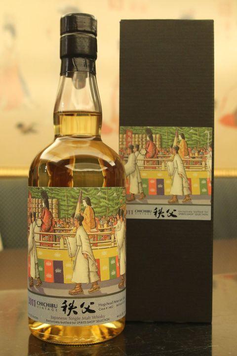 CHICHIBU Vintage 2011 秩父 2011 單桶 京都-時代祭 (700ml 61.2%)