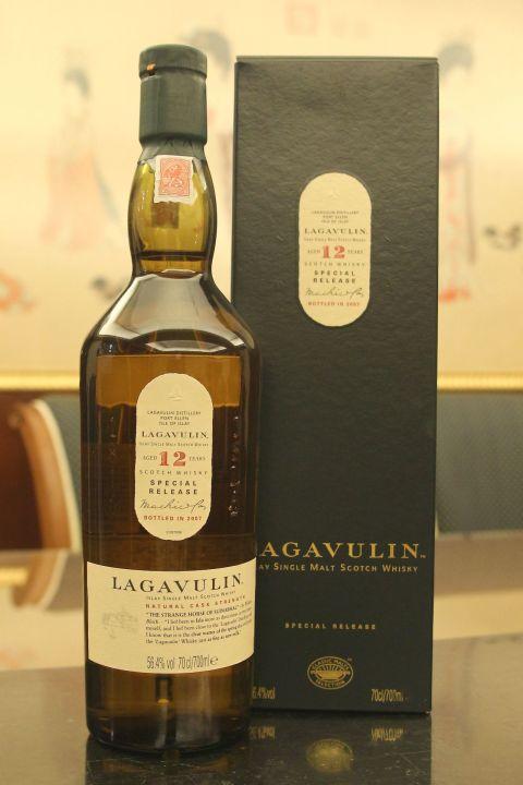 LAGAVULIN 12 years Bottled 2007 拉加維林 12年 原酒 2007裝瓶 (700ml 56.4%)