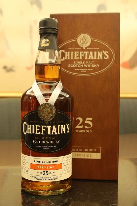 (現貨) Chieftain's 25 years Bottled 2014 老酋長 25年 2014版 (700ml 43%)