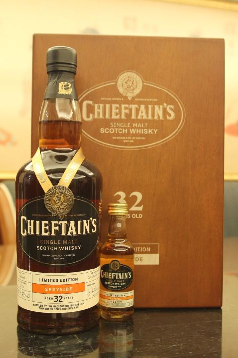 (現貨) Chieftain's 32 years Bottled 2014 老酋長 32年 2014版 (700ml 43%)