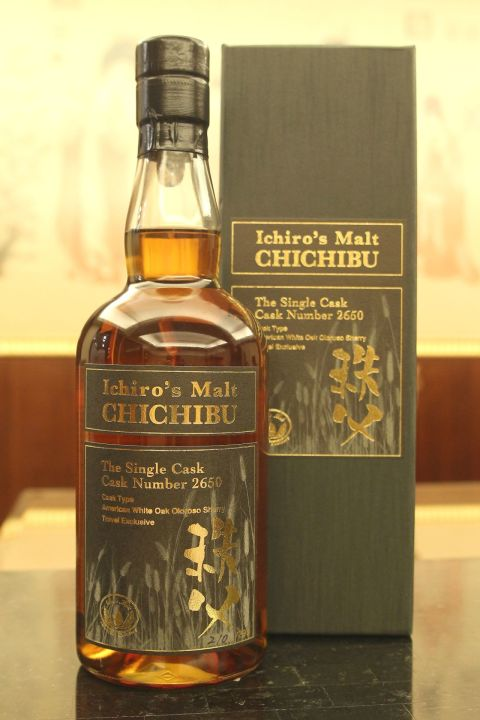 (現貨) CHICHIBU Ichiro's Malt 2010 Single Cask #2650 秩父 2010 單桶 (700ml 59.3%)