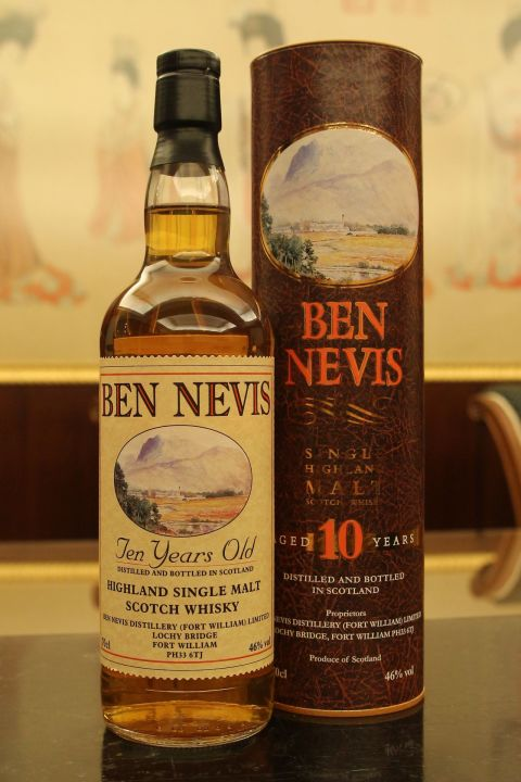(現貨) Ben Nevis 10 years - Old Bottling 班尼富 10年 歐洲版 (700ml 46%)