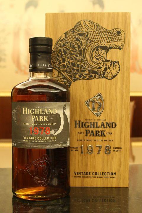 Highland Park 1978 Vintage Collection 高原騎士 1978 精選年份系列 (700ml 47.8%)