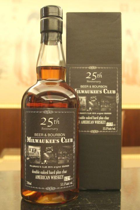 (現貨) CHICHIBU Ichiro's Malt Milwaukee's Club American Bourbon 秩父 美國波本 單桶 (700ml 53.5%)