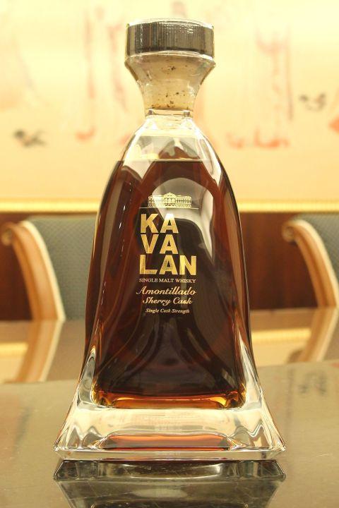 (現貨) KAVALAN Amontillado Sherry Cask 噶瑪蘭 雪莉桶 尊釀威士忌原酒 (950ml 56.3%)