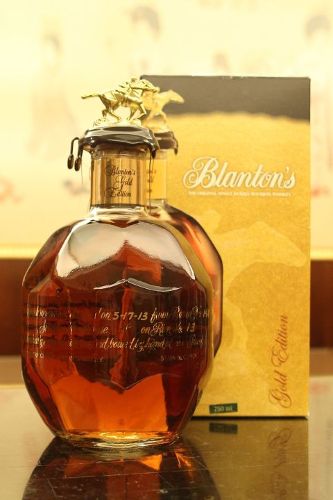 Blanton's Gold Edition Bourbon Whiskey 美國 巴頓 金版 單桶波本原酒 (750ml 51.5%)