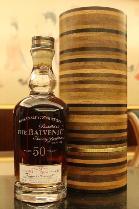 The BALVENIE 50 years Single Cask Bottled 2014 百富 50年 單桶 2014版 經典逸品 (700ml 45.4%)